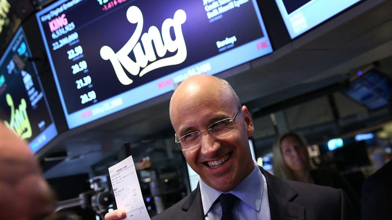 Riccardo Zacconi a conduit l'arrivée en Bourse de King en 2013. A l'issue de l'IPO, la société était valorisée 7,08milliards de dollars