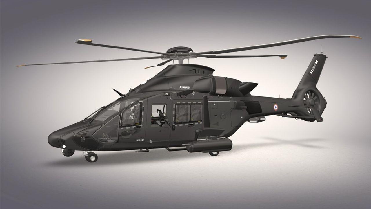 La maquette grandeur réelle de l'hélicoptère léger qui équipera les armées françaises sera présentée pour la première fois au salon du Bourget en juin