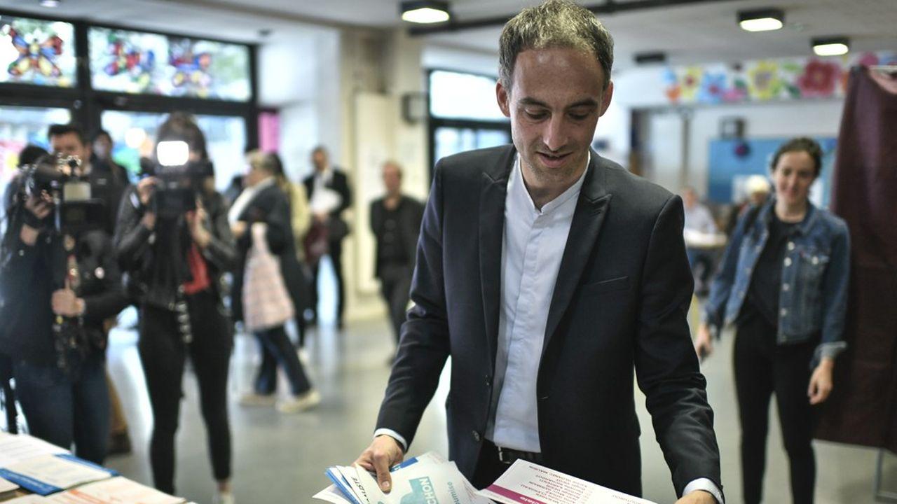 Raphaël Glucksmann, porte-drapeau de la liste Place publique - PS, a appelé à l'union des forces de la gauche, après l'annonce des premiers résultats des élections européennes