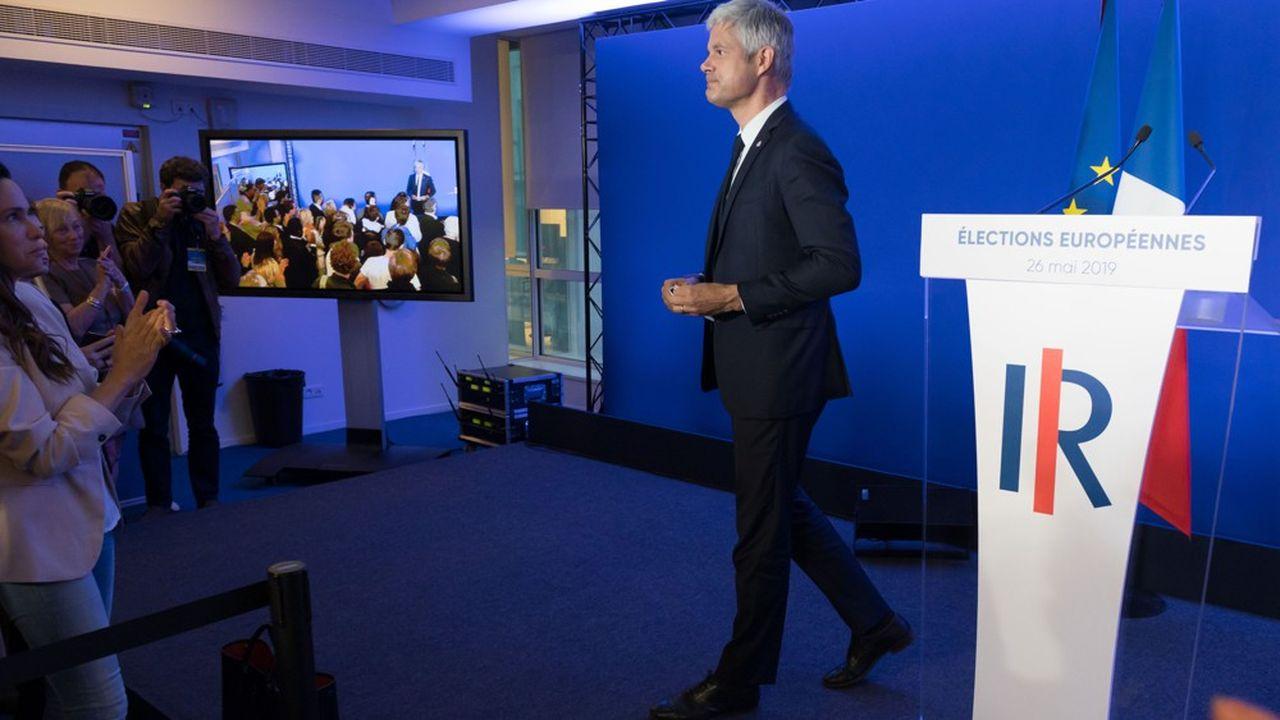 Avec François-Xavier Bellamy en tête de liste, Laurent Wauquiez avait placé son parti sous le signe d'un conservatisme prononcé