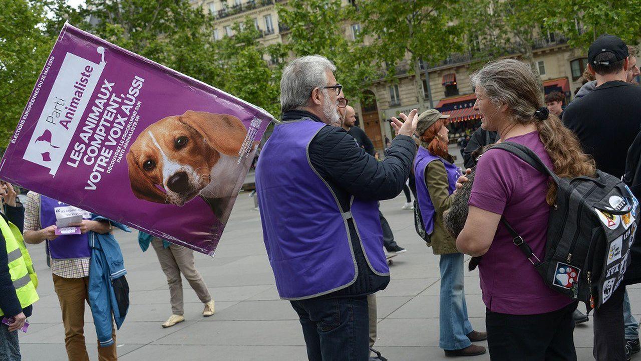 Le Parti animaliste a doublé son score des élections législatives de 2017 où il avait obtenu 1,1% des voix.