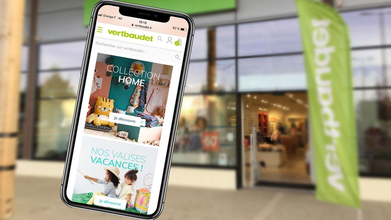Vertbaudet a lourdement investi afin d'adapter son site marchand à tous les supports numériques, tout en continuant de développer son réseau de boutiques pour favoriser le «click and collect».
