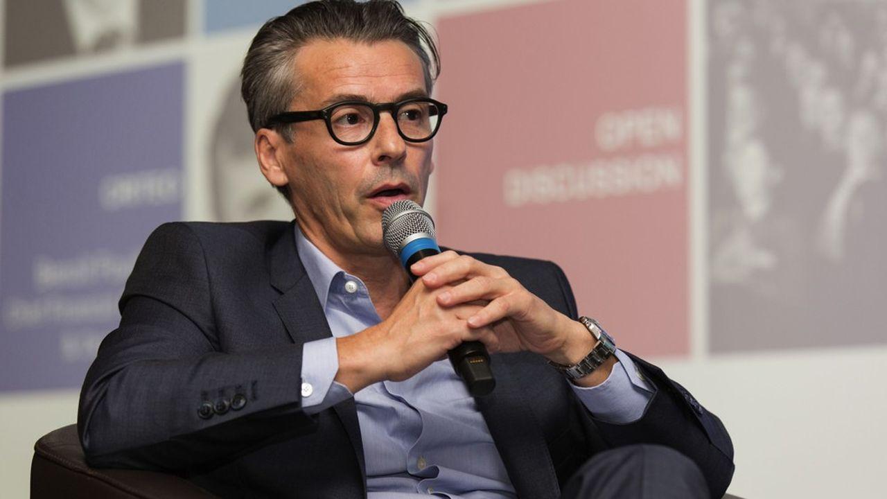 Jean-Philippe Faure,directeur général d'Eiffage Global Services.