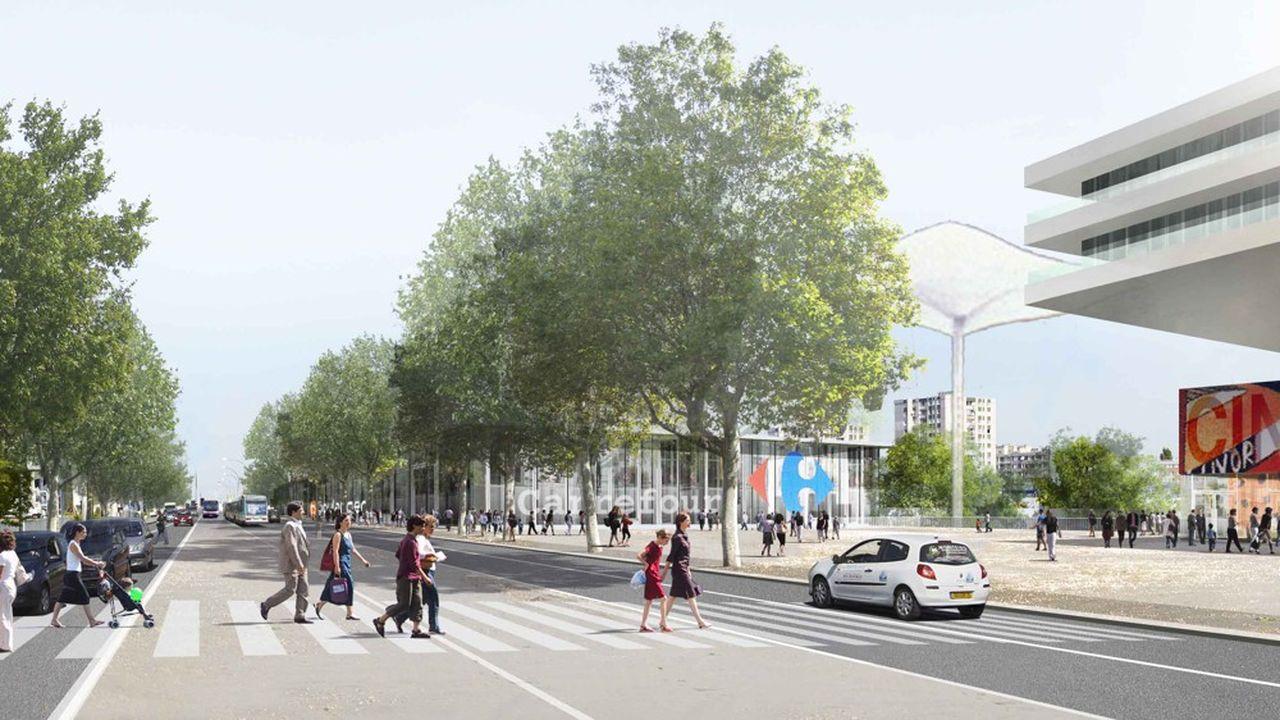 Les habitants interrogés sont favorables à la construction d'immeubles de moins de cinq étages.