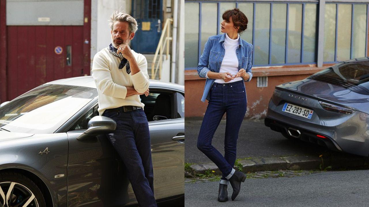 Commercialisée depuis la mi-mai en précommande sur le site de Tuffery et à la boutique de l'atelier, la ligne de jeans Alpine pourrait bien devenir «collector» avec une production d'un millier de jeans (homme et femme) attendue sur les trois ans du partenariat.