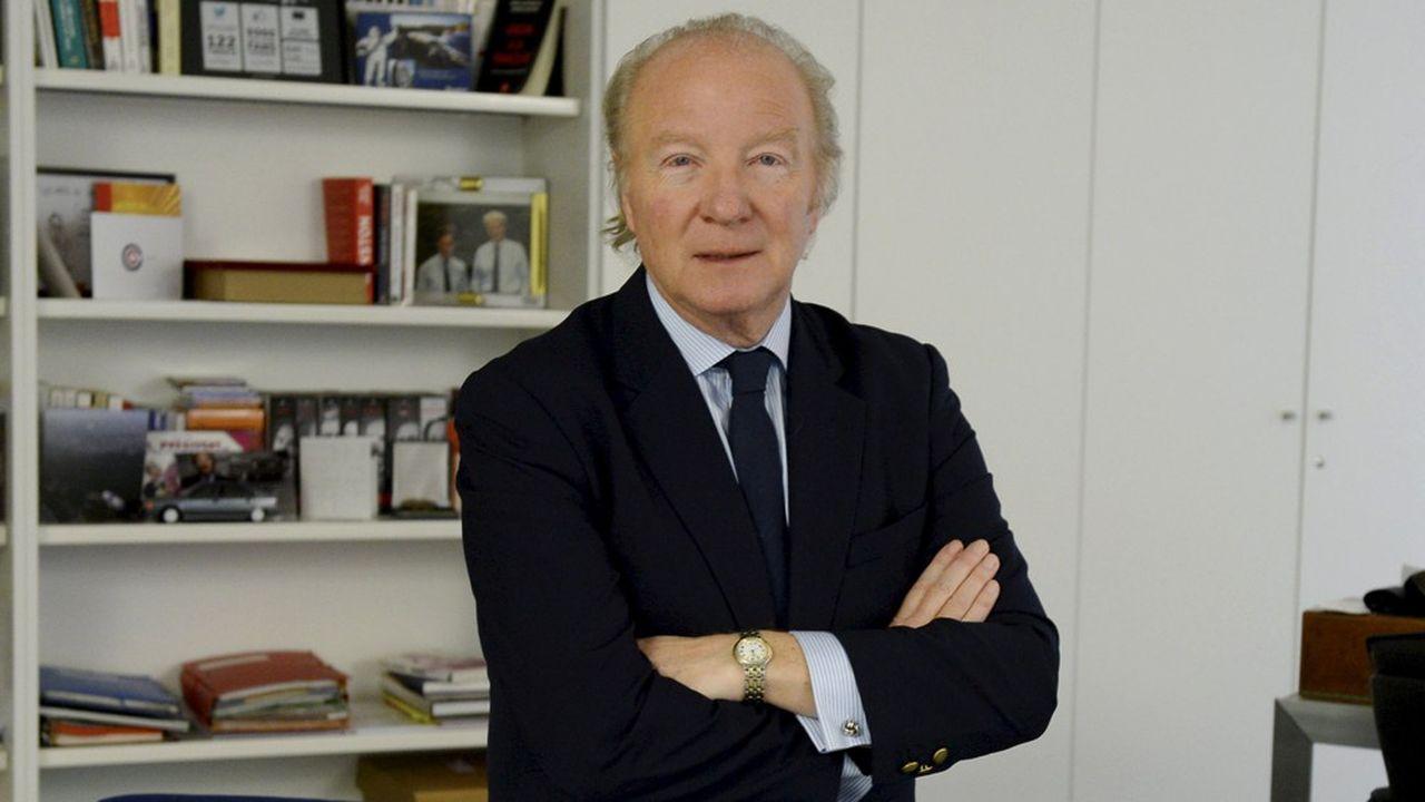Brice Hortefeux prône «une droite forte, populaire et sociale».