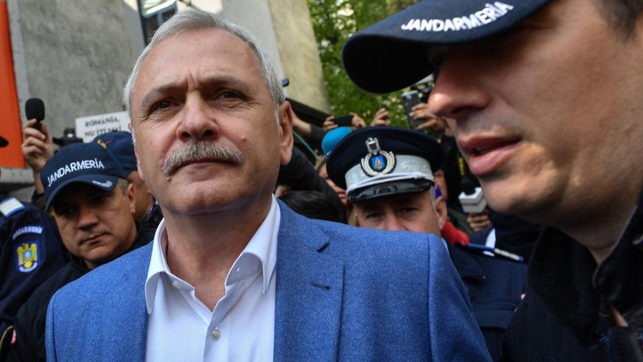 Le président du parti social-démocrate roumain, Liviu Dragnea a été condamné en appel à trois ans et demi de prison pour emplois fictifs.