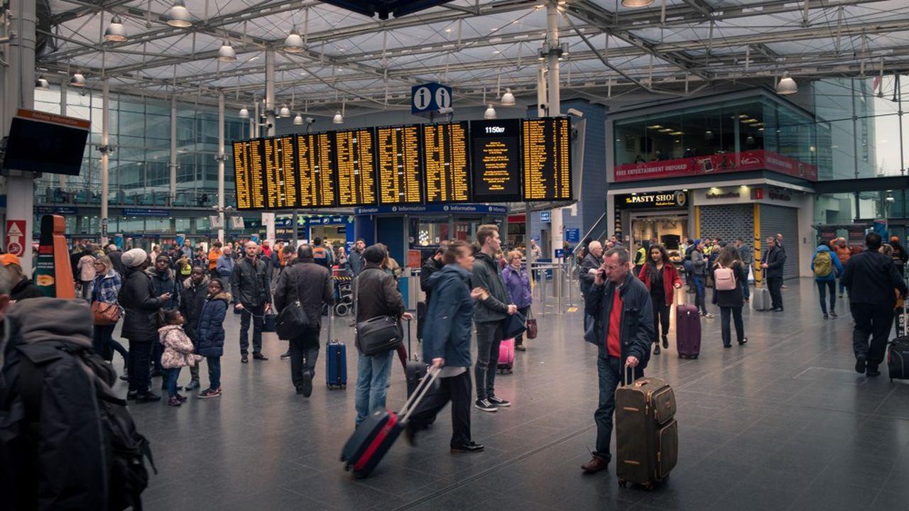 Les trains régionaux de Northern desservent les plus grandes villes du nord de l'Angleterre, comme Manchester (ici en photo); Liverpool, Leed, Sheffield ou encore Newcastle.