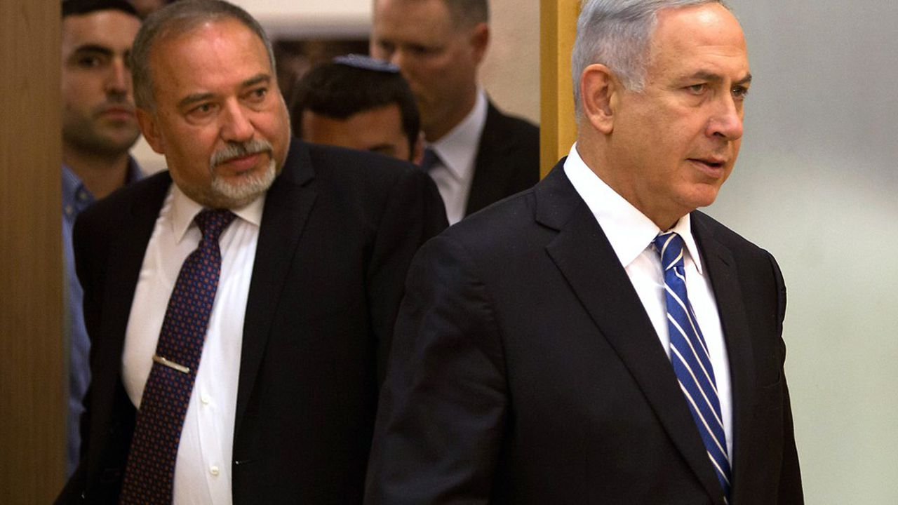 Jusqu'au bout, Avigdor Lieberman l'ancien ministre de la Défense de Netanyahou s'est opposé au premier ministre au nom de principes intangibles selon lui.