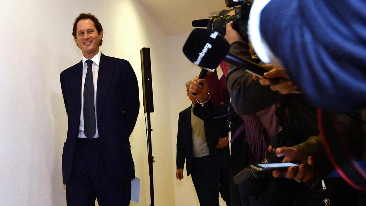 John Elkann, président de FCA, a proposé une fusion à 50/50 à Renault sur la base des cours de Bourse du 24mai, un plus bas depuis cinq ans pour le Losange.