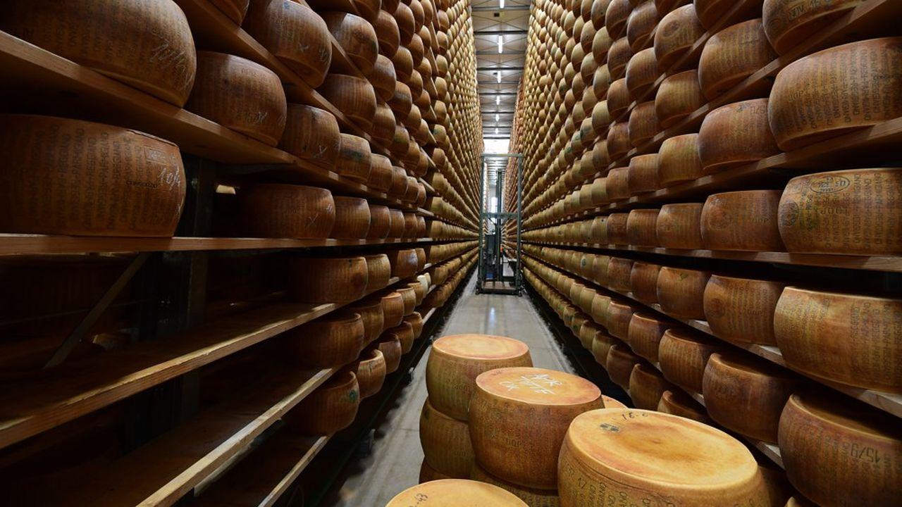 Nuova Castelli est le plus important exportateur de Parmigiano Reggiano.