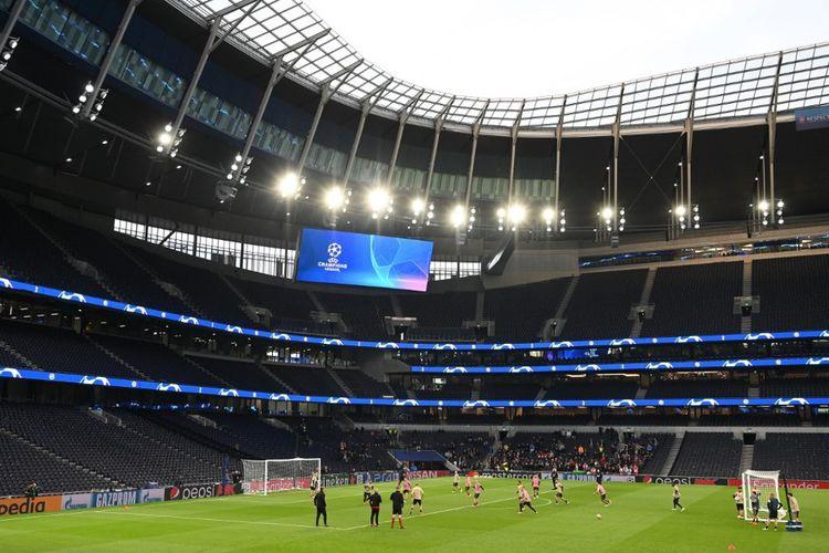 Le nouveau stade de Tottenham a coûté plus d'un milliard d'euros.