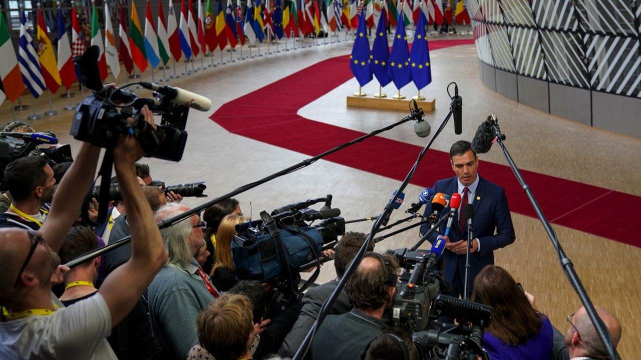 Pedro Sánchez, propulsé nouvel espoir de la social-démocratie européenne est décidé à en profiter pour promouvoir la place de l'Espagne au sein des institutions de l'Union