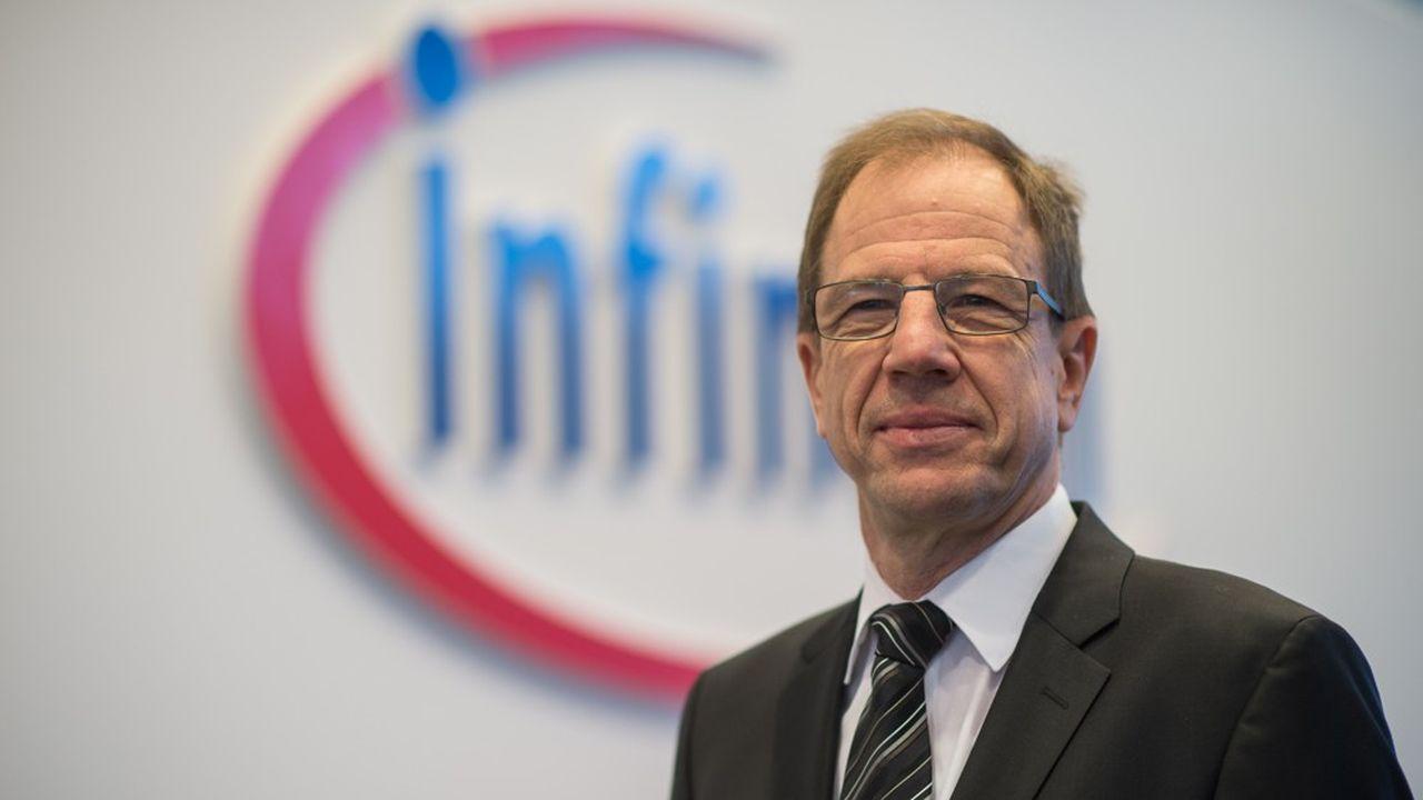 Dès la première année après la fusion, Infineon table sur une croissance des revenus d'environ 9% et une marge de 19%