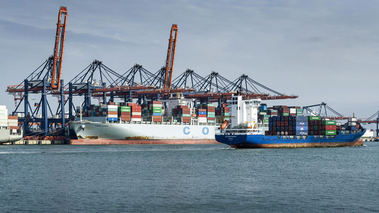 Le port de Rotterdam est le premier port européen