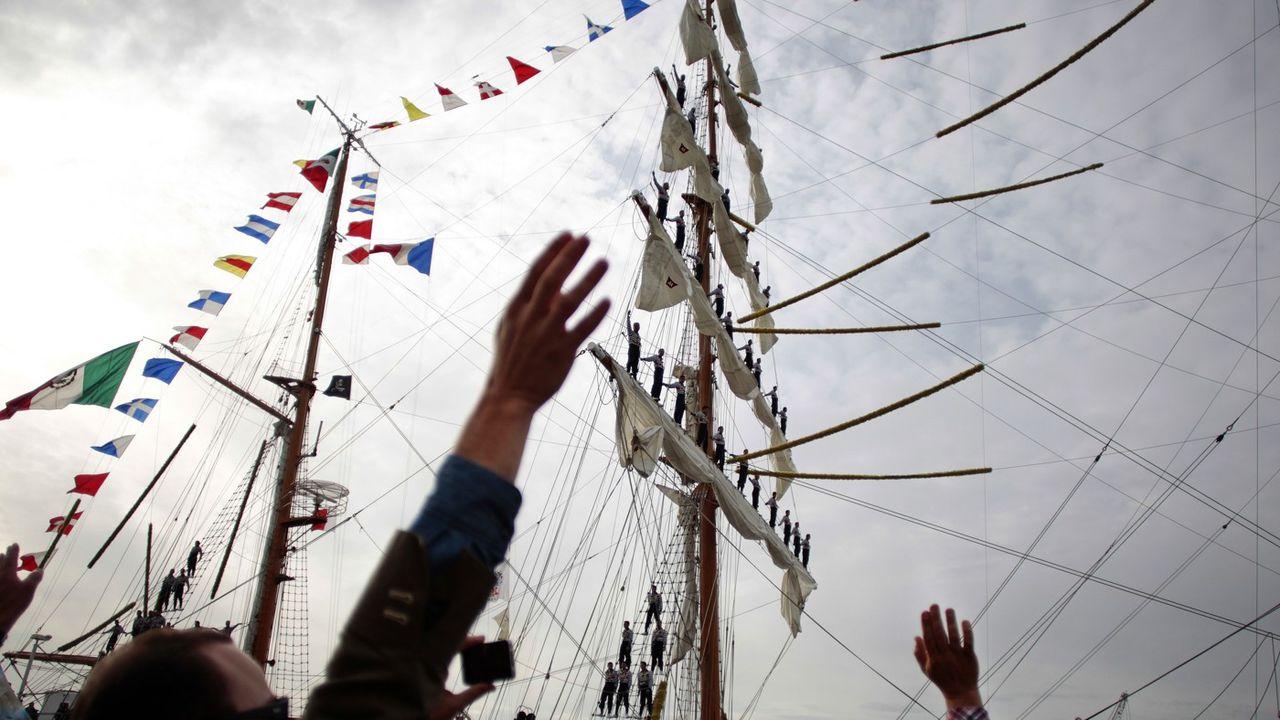 Le 6 juin a été donné le coup d'envoi de la septième Armada de Rouen. Un évènement à 7 millions d'euros qui attire traditionnellement 300.000 visiteurs par jour dans la ville normande (ici en juin 2016).