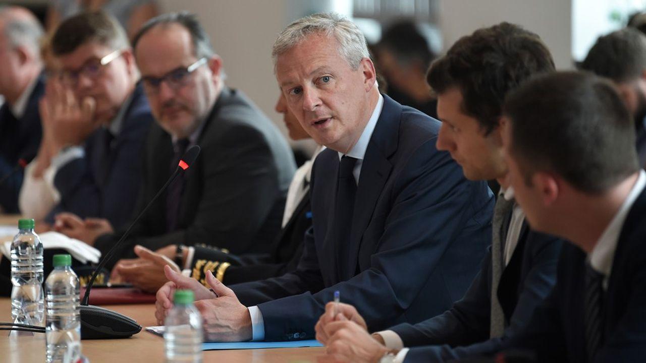 «Je suis là pour garantir l'avenir industriel du site de GE, pour voir comment améliorer le plan social», a déclaré le ministre de l'Economie, Bruno LeMaire.