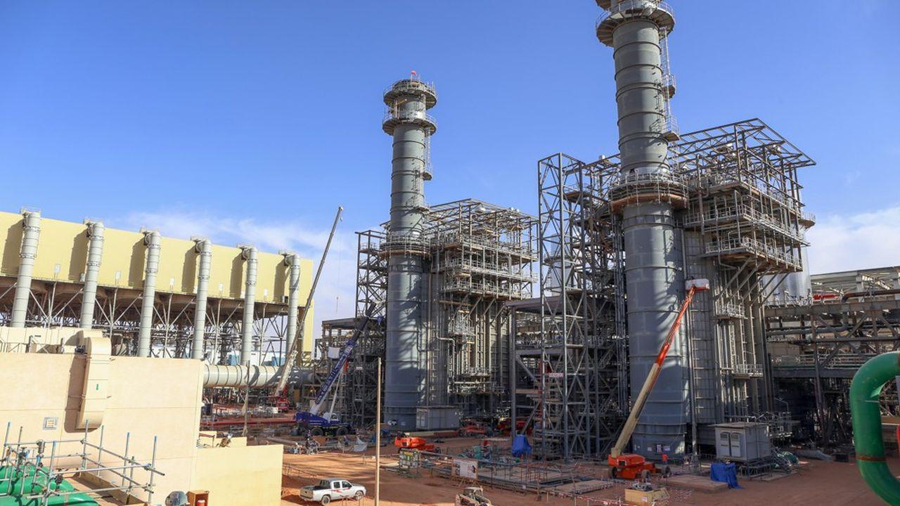 L'Arabie saoudite a besoin de gaz pour générer de l'électricité (ici une centrale à gaz en construction à Riyad), mais le royaume veut aussi devenir exportateur.