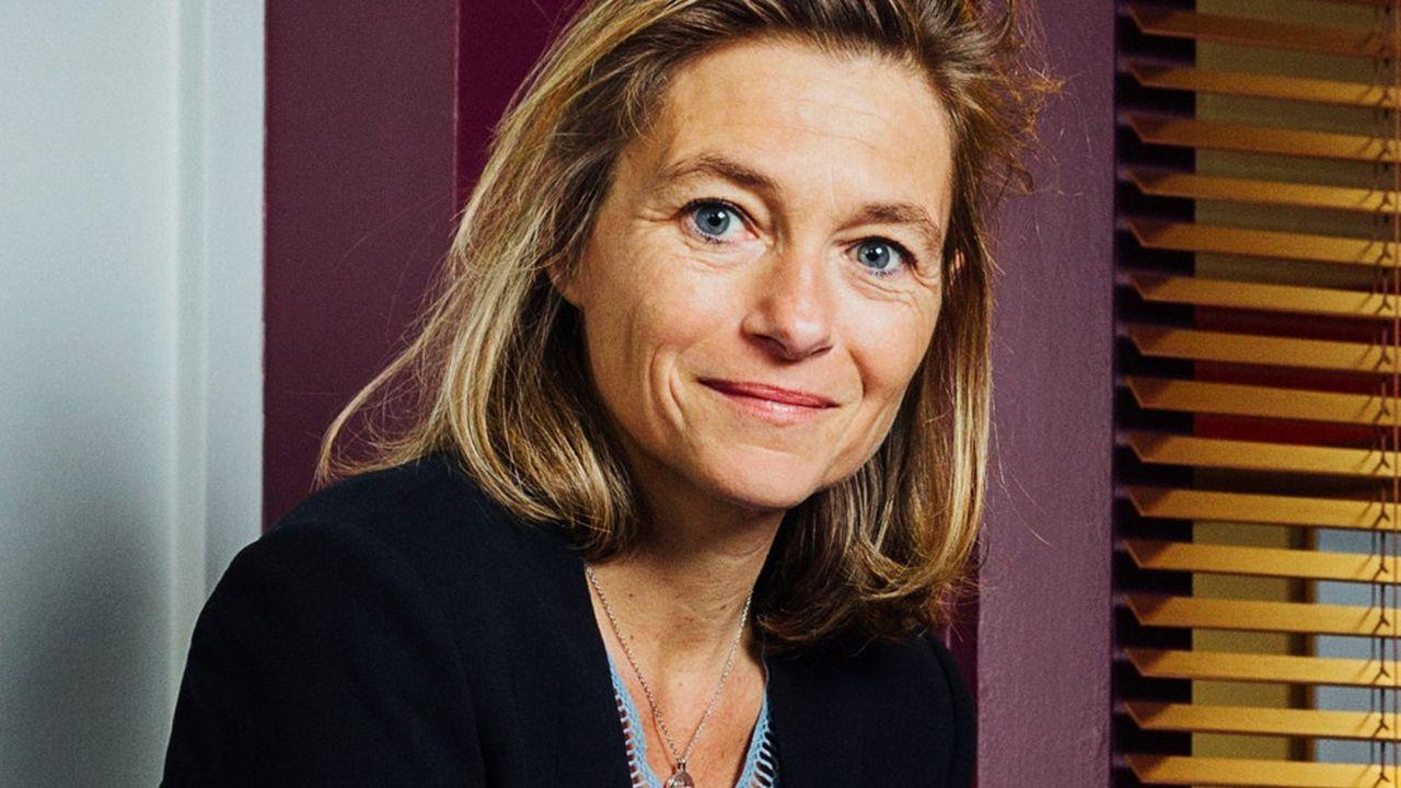 Axelle Davezac, directrice générale de la Fondation de France