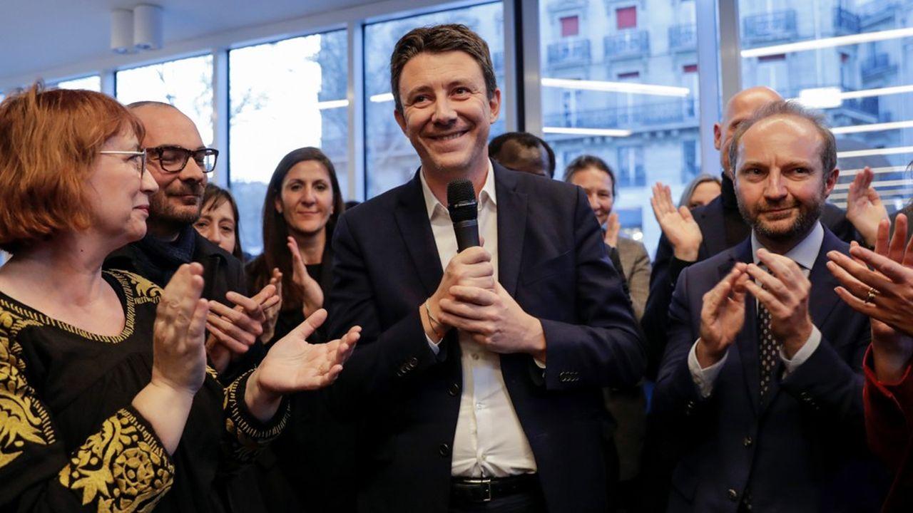 Benjamin Griveaux milite activement pour sa candidature parisienne depuis septembre mais a quitté son poste de porte-parole du gouvernement en mars dernier.