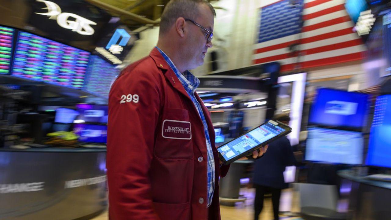 Le «floor» du New York Stock Exchange.