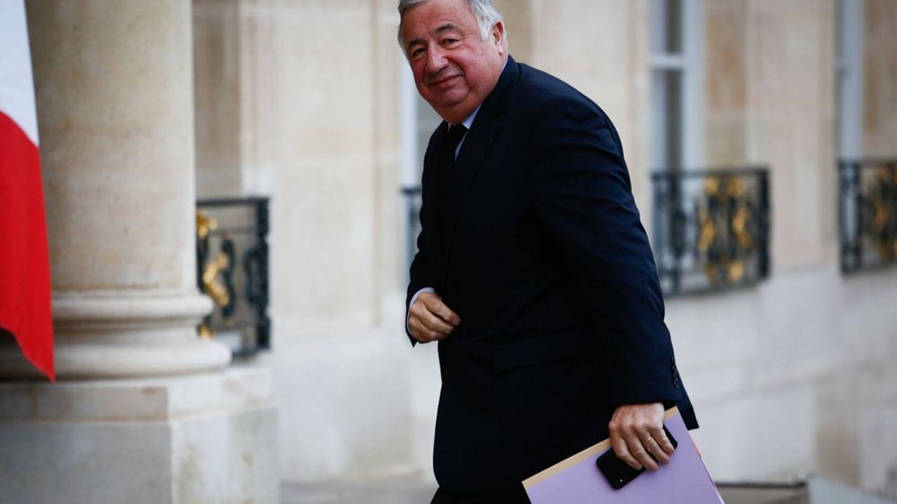 Gérard Larcher a les prochaines élections sénatoriales en ligne de mire.