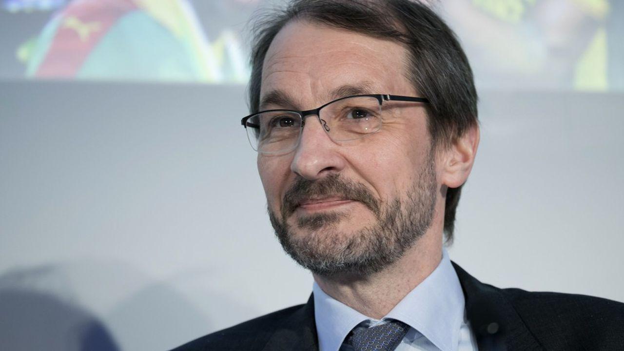 Dag Rasmussen directeur général de Lagardère Travel Retail.