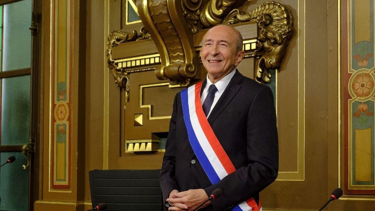 Gérard Collomb a retrouvé son fauteuil de maire de Lyon en novembre2018, un mois après son départ de la place Beauvau.
