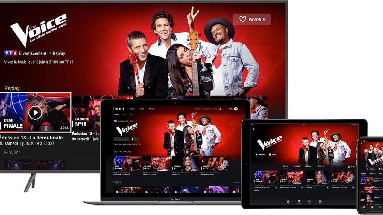 TF1 refond le site MyTF1 avec son replay, avec un nouveau player vidéo, avec davantage de place pour la vidéo sur l'écran.
