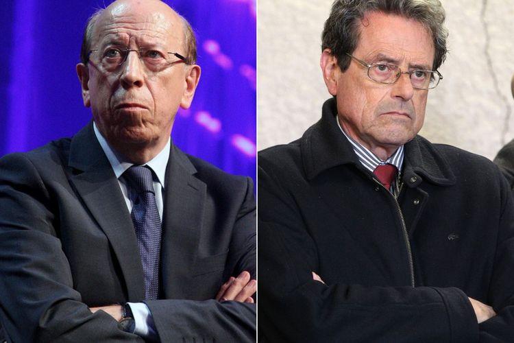 Jean-Marie Vanlerenberghe (à gauche) et Alain Milon (à droite).