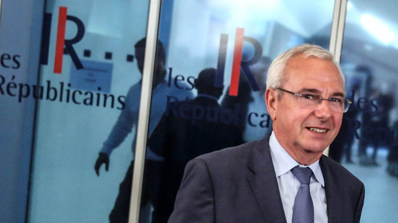 Jean Leonetti, président par intérim des Républicains.