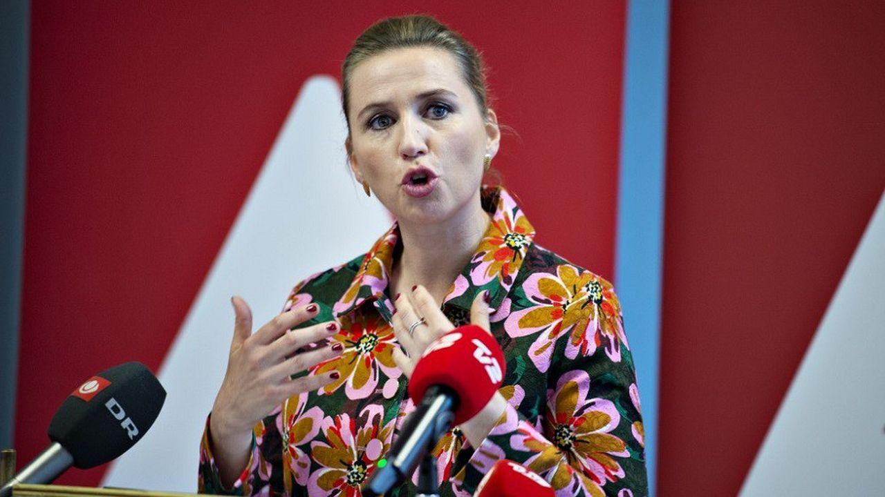 Mette Frederiksen est à la tête des Sociaux-démocrates danois depuis 2015