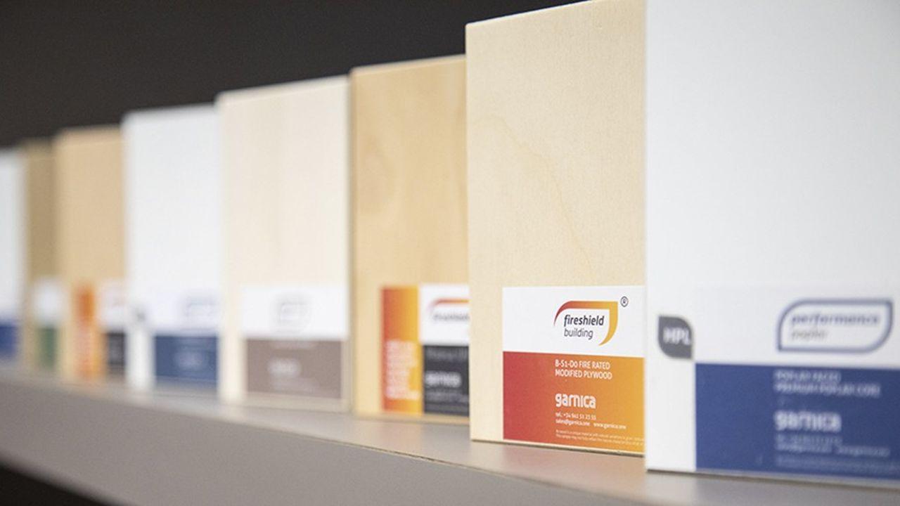 Garnica va produire à Troyes ses innovations les plus récentes, comme des plaques résistantes au feu ou insensibles à la moisissure et aux nuisibles.