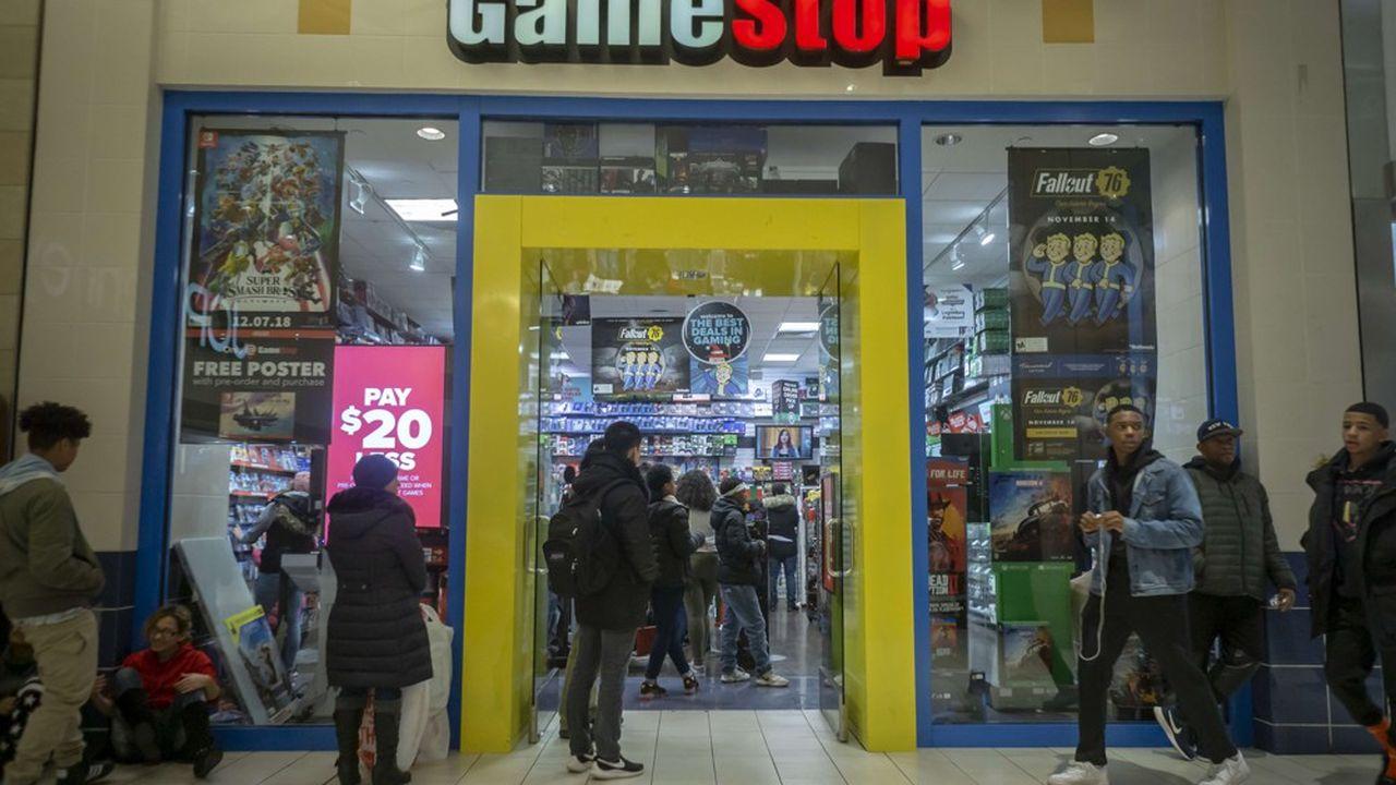 GameStop a échoué en janvier à trouver le repreneur qu'elle recherchait depuis juin. L'annonce avait déjà fait dévisser le titre en Bourse de près de 30%