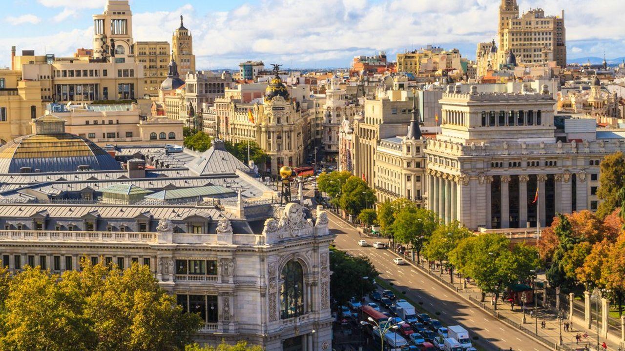 Le nombre des salles de paris sportifs a été multiplié par plus de six en cinq ans à Madrid