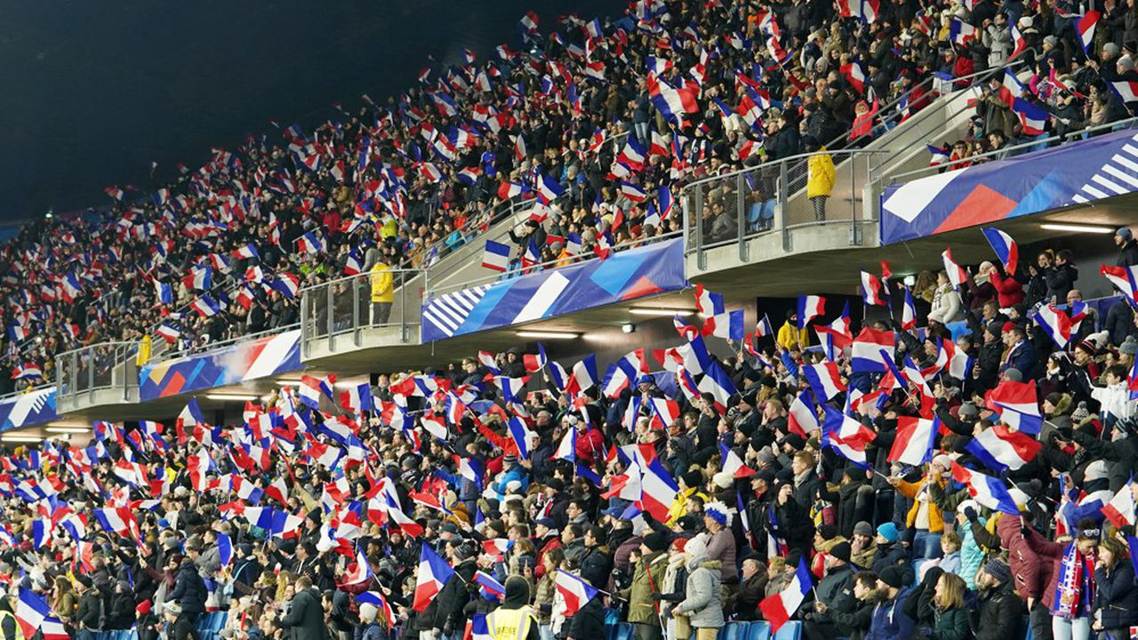L'équipe de France pourrait rencontrer celle des Etats-Unis, championne du monde en titre, en quarts de finale, le 28juin. En janvier, elle l'avait battue sur le score de 3-1 lors d'un match amical, joué auHavre (photo).