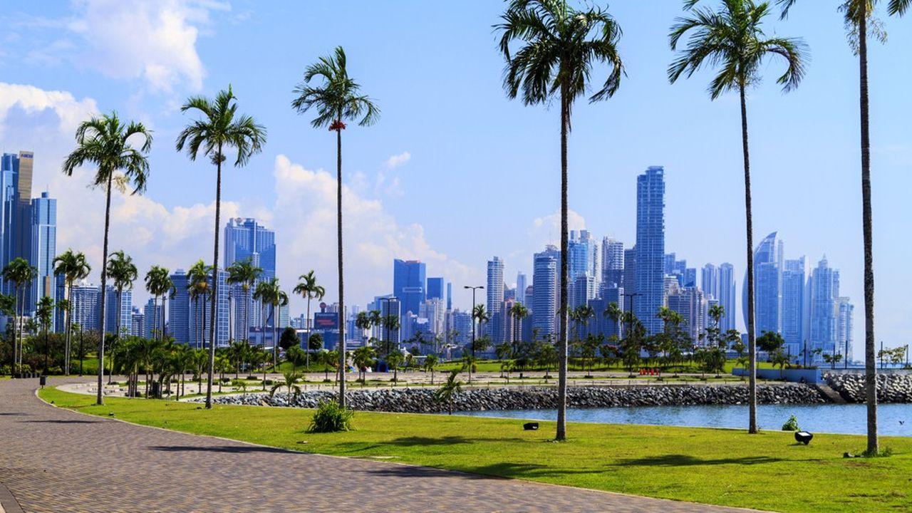 Les paradis fiscaux sont dans la nasse comme, ici, la ville de Panama. La pression des administrations fiscales internationales érode de plus en plus le secret bancaire.