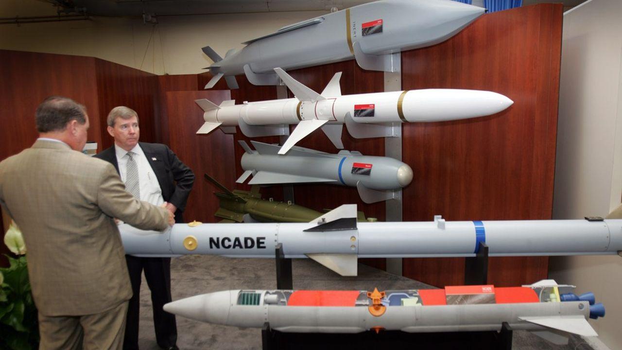 Raytheon est un poids lourd dans les missiles notamment, dont les produits les plus connus sont les missiles anti-missiles Patriot ou encore les missiles de croisière Tomahawk.