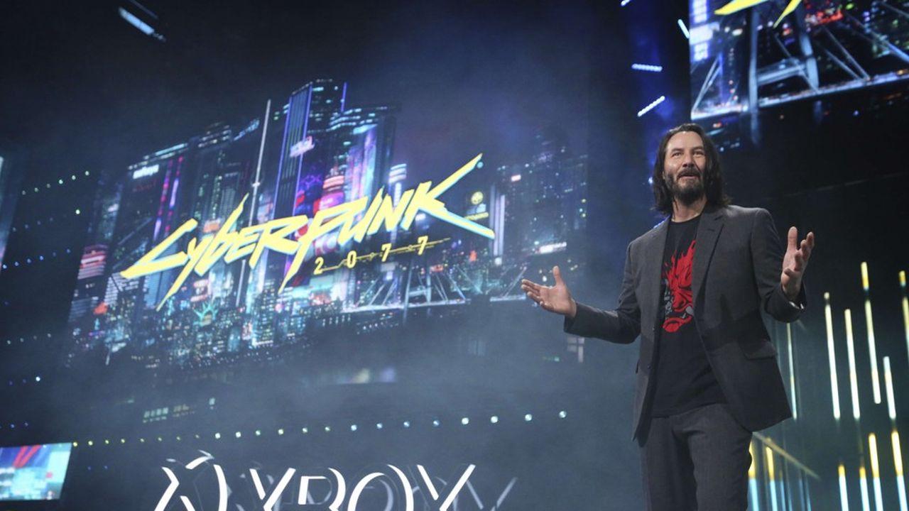 Invité acclamé, l'acteur Keanu Reeves est venu révéler la date de sortie du tant attendu jeu d'action futuriste et dystopique Cyberpunk 2077