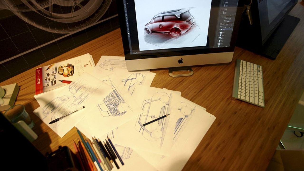 Toyota et le studio de design Massaud presentent le concept car ME.WE Concept car realise par le designer independant JM Massaud en partenariat avec le Centre de Design Toyota (ED2) de Sophia Antipolis.