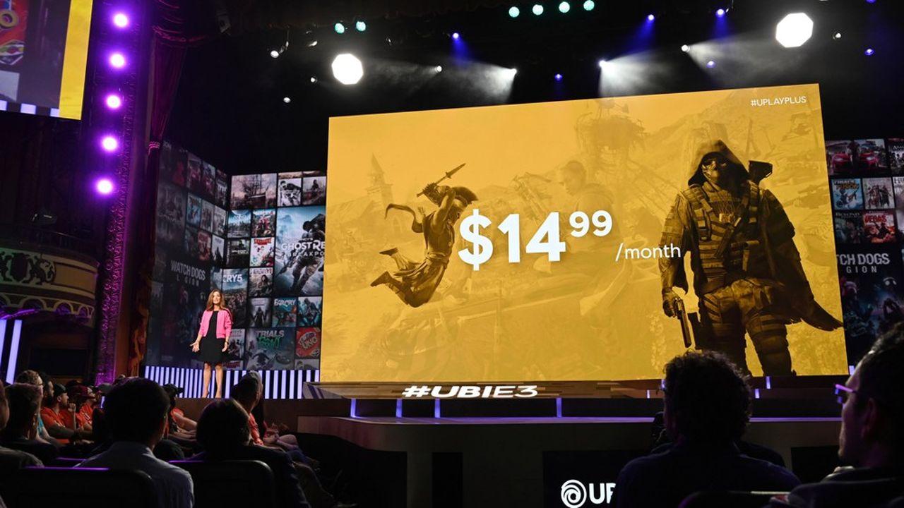 Uplay+, le nouveau service d'abonnement d'Ubisoft, sera compatible avec les jeux Stadia de Google en 2020, a précisé Brenda Panagrossi, la vice-présidente Plateforme et direction de produit d'Ubisoft, lors d'une conférence en marge de l'E3, salon mondial des jeux vidéos à Los Angeles.