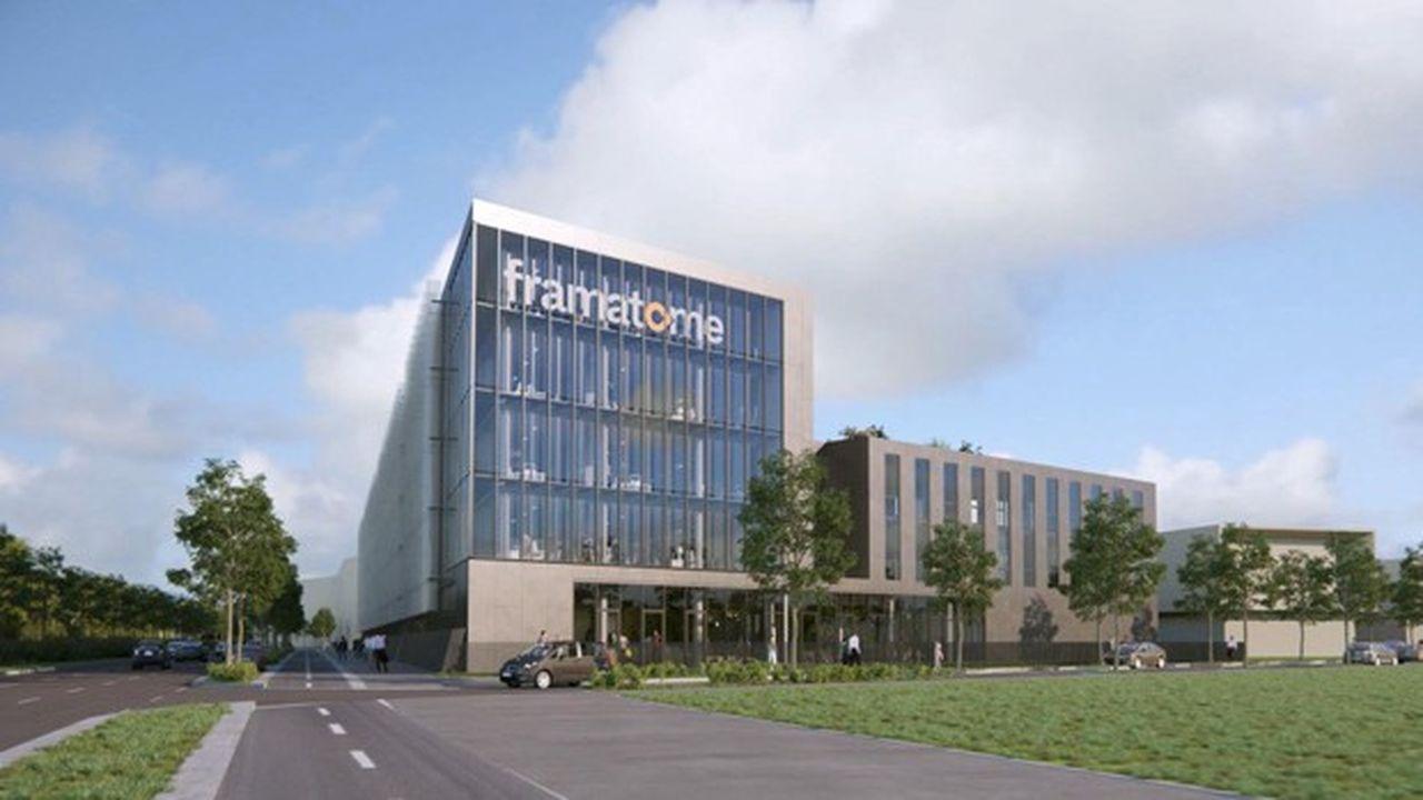 27.000 mètres carrés vont être construits pour accueillir à terme quelque 1.750 salariés de Framatome près du stade Gerland.