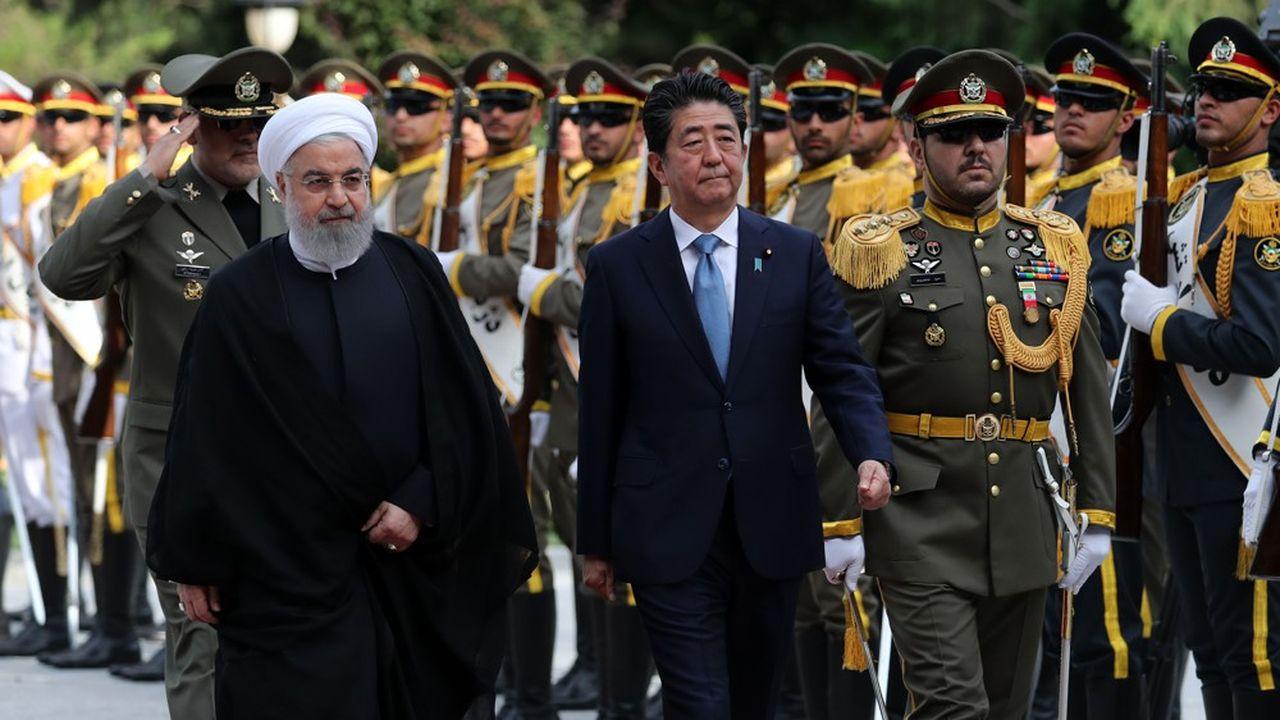 Un contexte tendu pour la venue du Premier ministre japonais en Iran