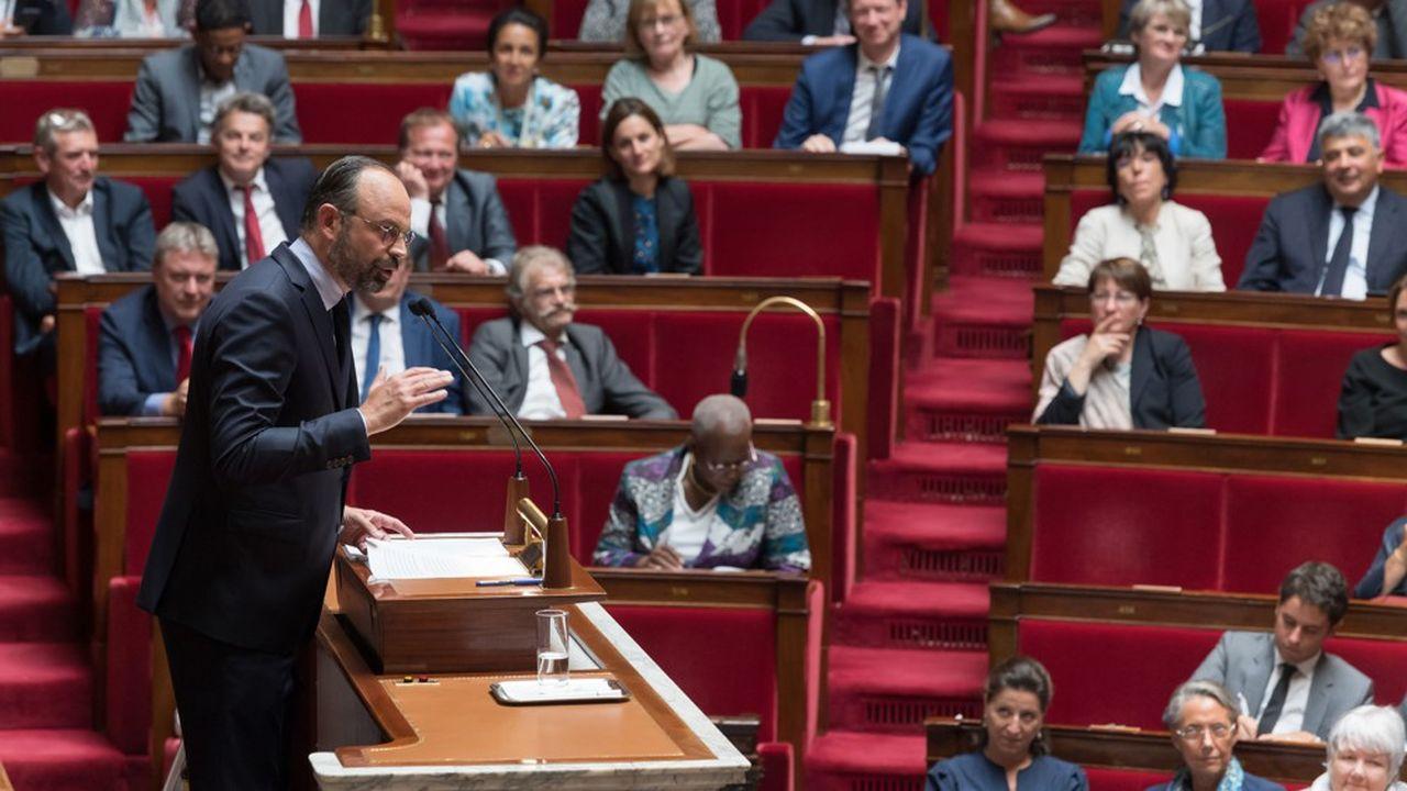Edouard Philippe a prononcé ce mercredi sa deuxième déclaration de politique générale.