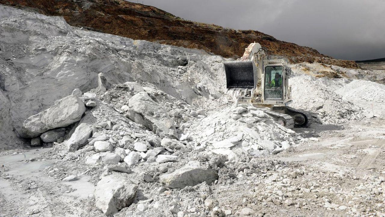 Imerys essaie d'être le numéro un mondial dans une série de petites niches, dans les minerais abordables.