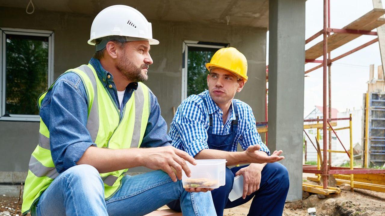 L'abattement de 10% sur les salaires des ouvriers du bâtiment correspond en partie à la prime de panier versé par l'employeur.