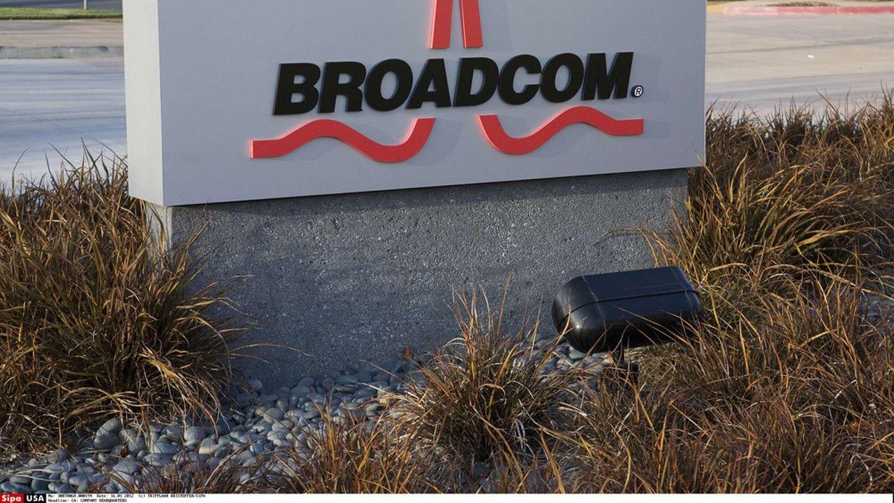 Comme la plupart des spécialistes des puces, Broadcom risque d'être pénalisé lourdement par la mise au ban de Huawei aux Etats-Unis.
