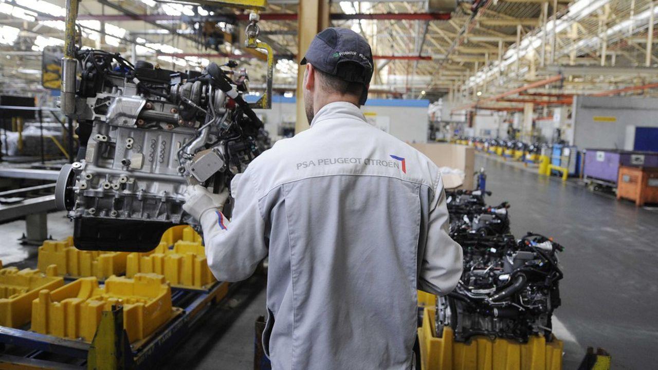 L'usine PSA de Trémery, au nord de Metz en Lorraine, a un temps été la plus grosse usine de moteurs diesel au monde.