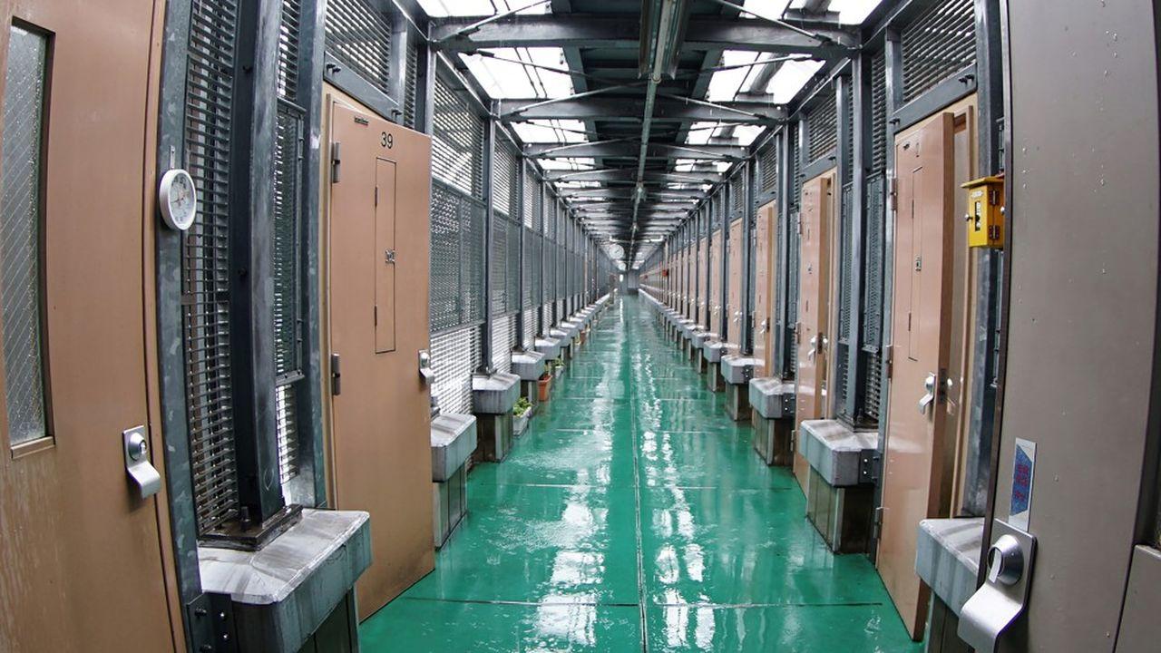 L'intérieur de la prison de Tokyo où a été détenu Carlos Ghosn, juin 2019