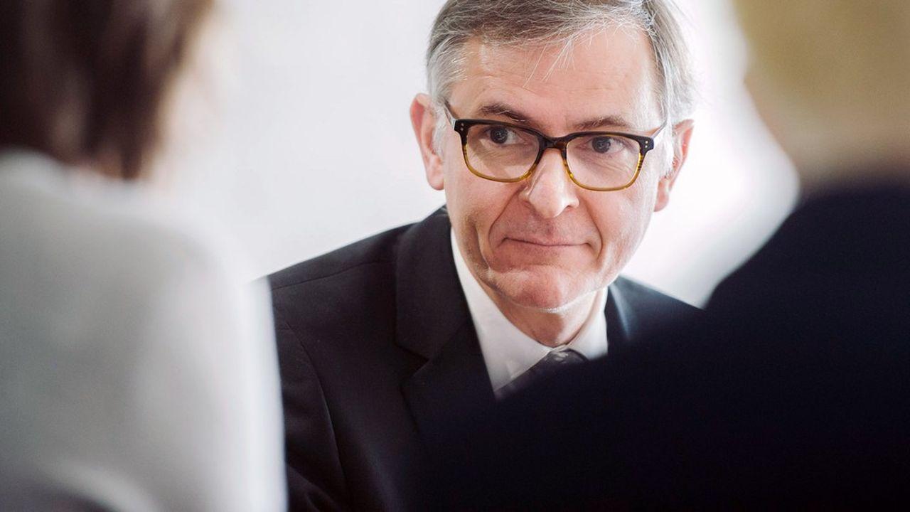 Vincent Destival, le directeur général de l'Unédic.